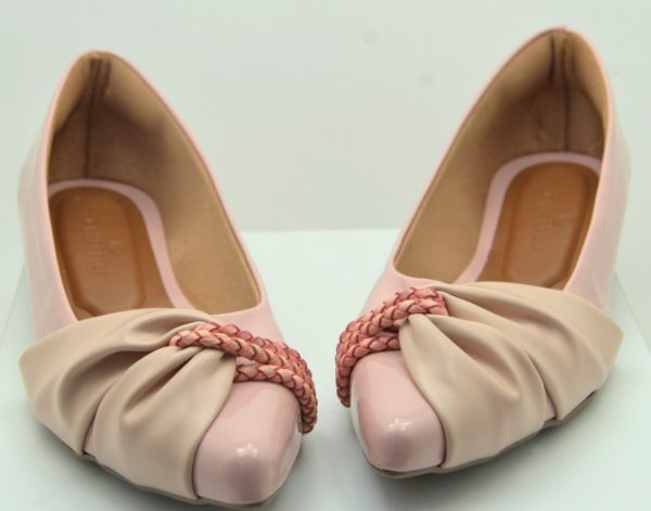 POINTED HALF LACE - SWEETIE PINK