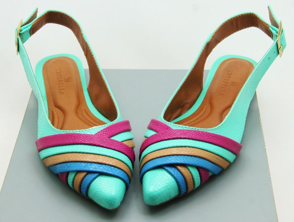 SLINGBACK WAVE - NEON MINT
