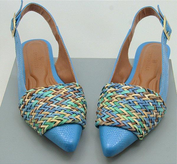 SLINGBACK CHORD - BLUE SOFT TONS