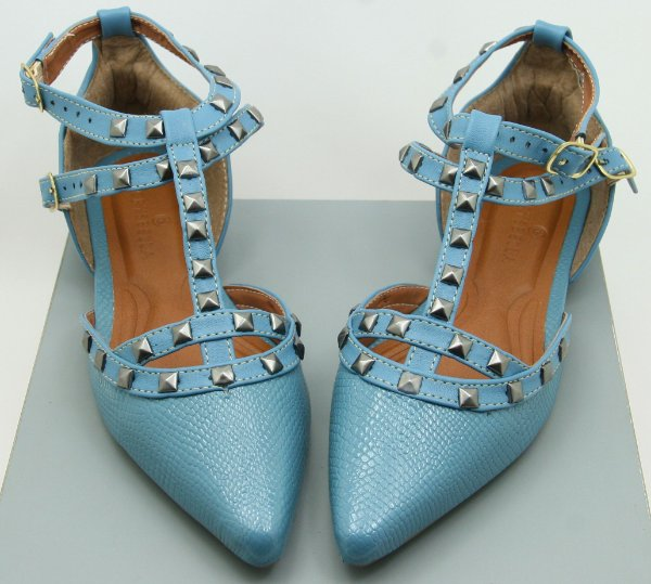 POINTED VALENTINO INSPIRED - PURIST BLUE