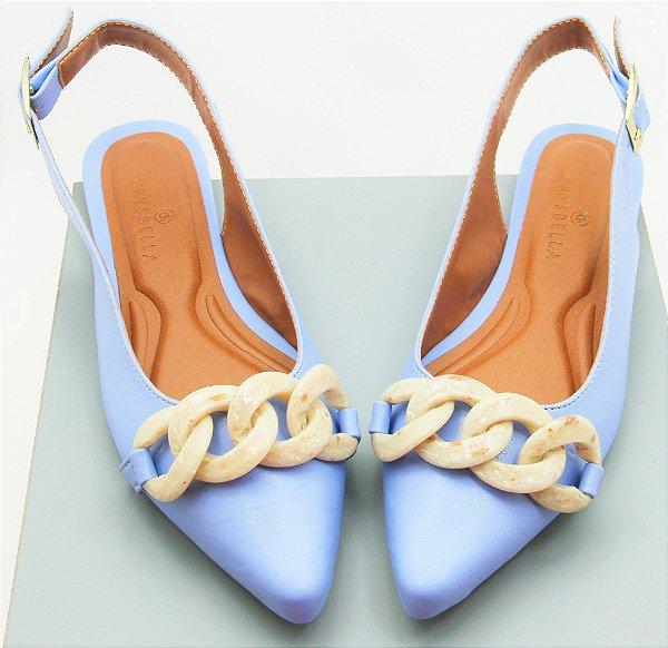 SLINGBACK CORRETES- PURIST BLUE