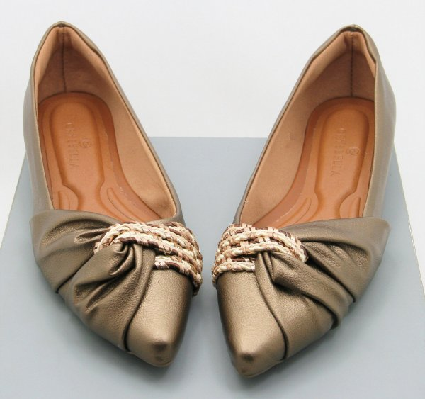 POINTED HALF LACE - BRONZE