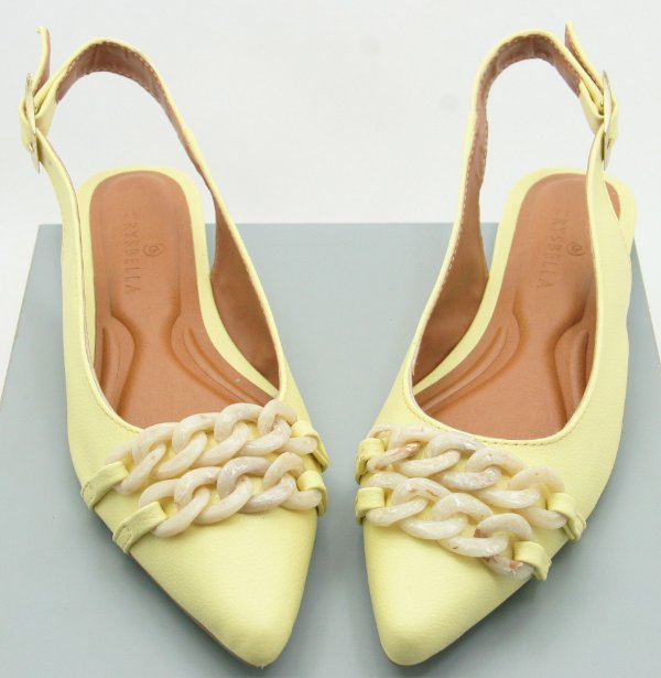 SLINGBACK MAXI CORRENTES - CANDY YELLOW