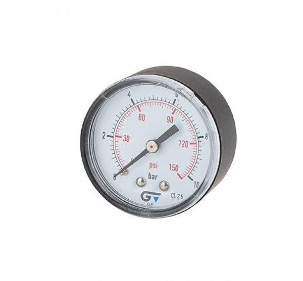Manômetro DN 53 ABS Seco Horizontal BSP 3821 Genebre