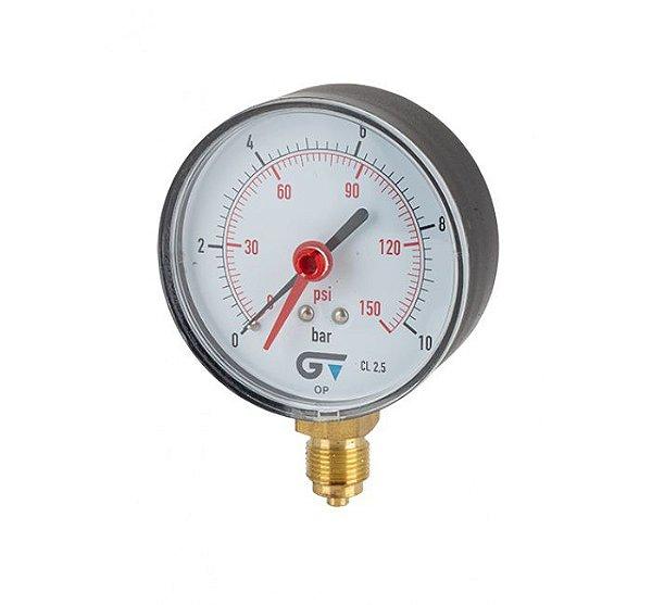 Manómetro Radial D80 BSP 3827 Genebre