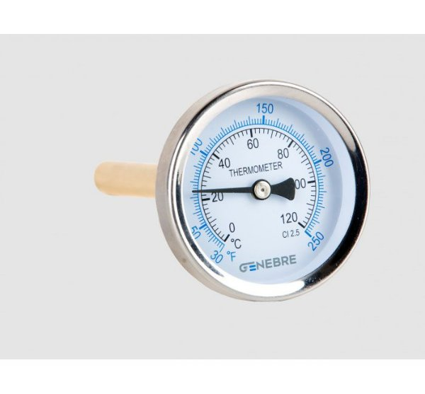 Termômetro Bimetálico DN63 8033 Genebre