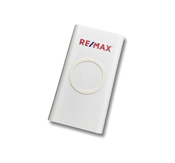 Bateria portátil (powerbank) wireless 11.000mAh RE/MAX - 97902 Branco ( NÃO USAR FRETE AEREO )