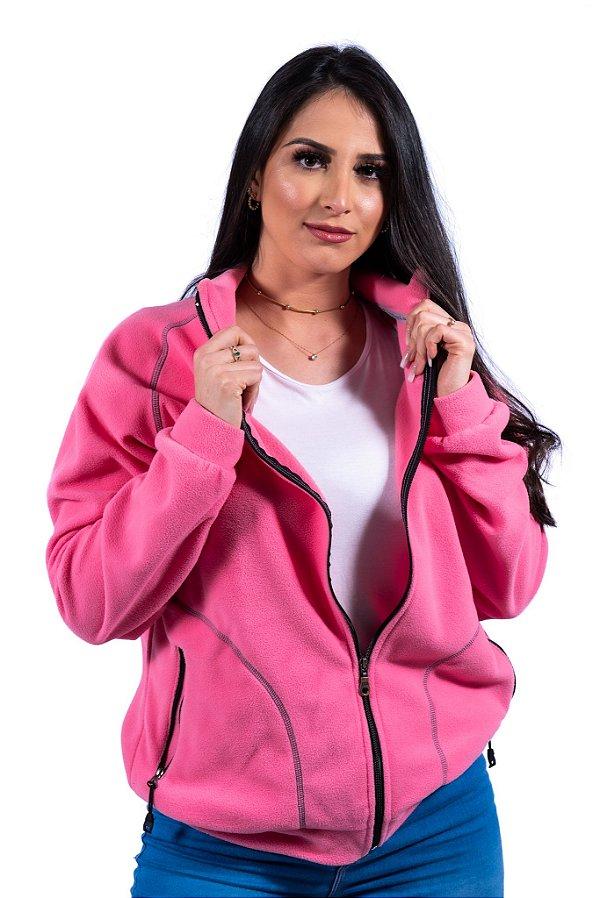Casaco Soft Rosa