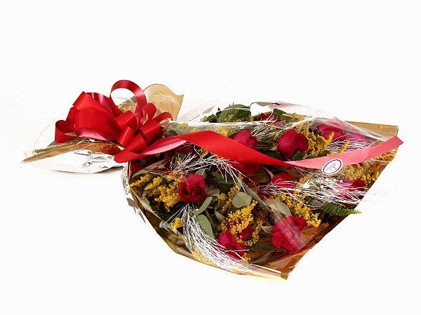 Ramalhete de 10 Rosas Amoroso