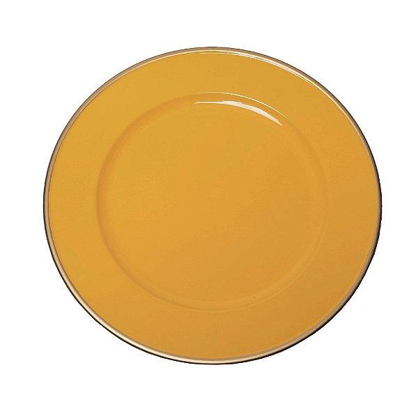 Sousplat Basic Amarelo