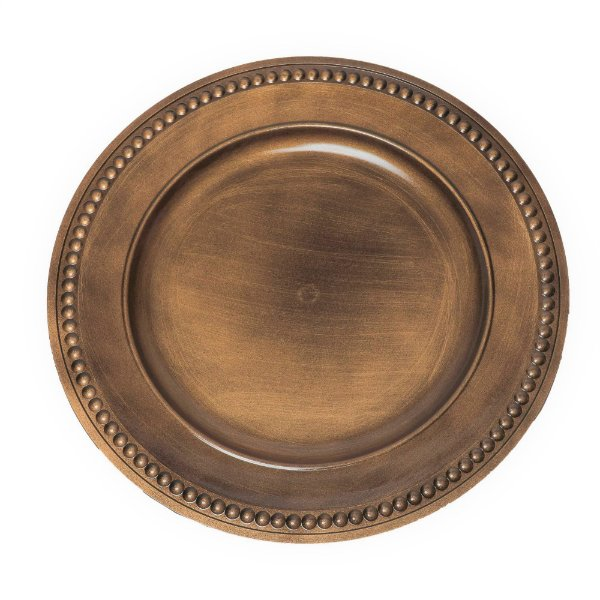 Sousplat Pearl Ouro Antique