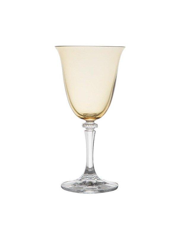 Taça Vinho Kleopatra Ambar