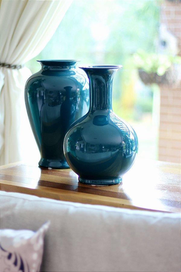 Vaso Cerâmica Redondo Paon