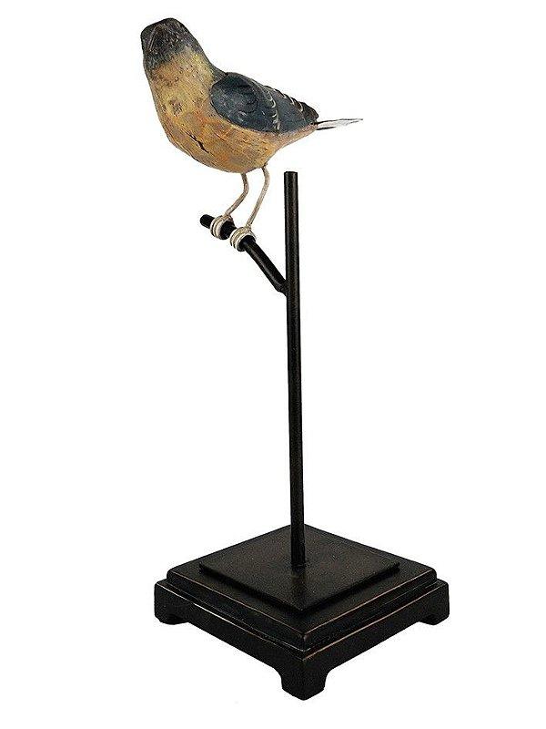 Escultura Pássaro Colorfull Bird I