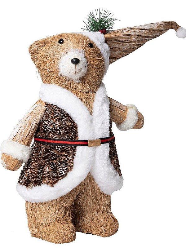 Urso Teddy de Natal