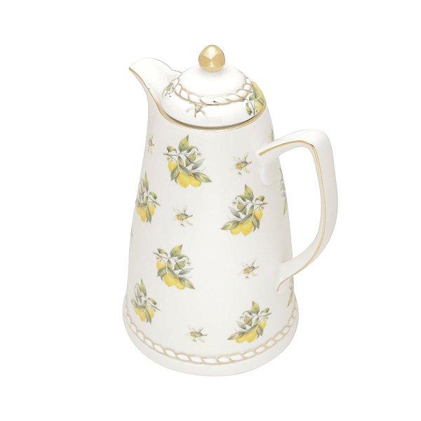 Garrafa Térmica de Porcelana Lemon