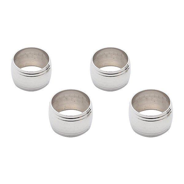 Set Porta Guardanapo Silver