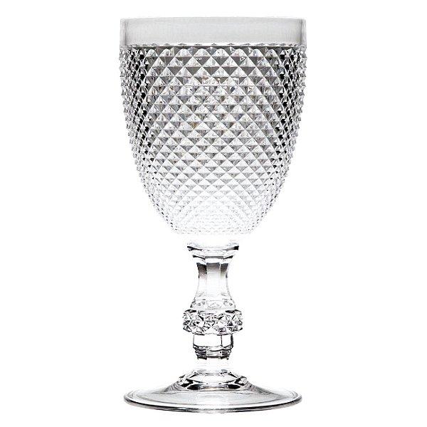 Set Taça Água Priscila Acrílico