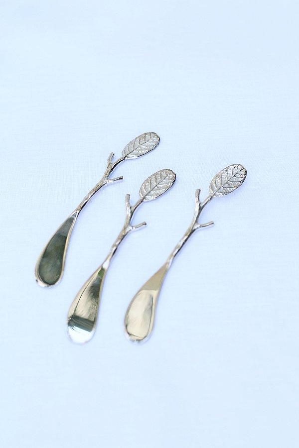 Set Espátula Leaf