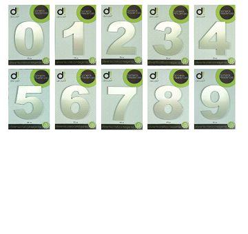 Número Alumínio Espelhado Luxo 15cm (0 a 9)