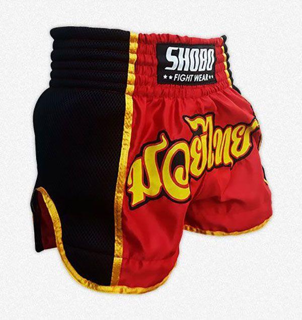Short Muay Thai Vermelho