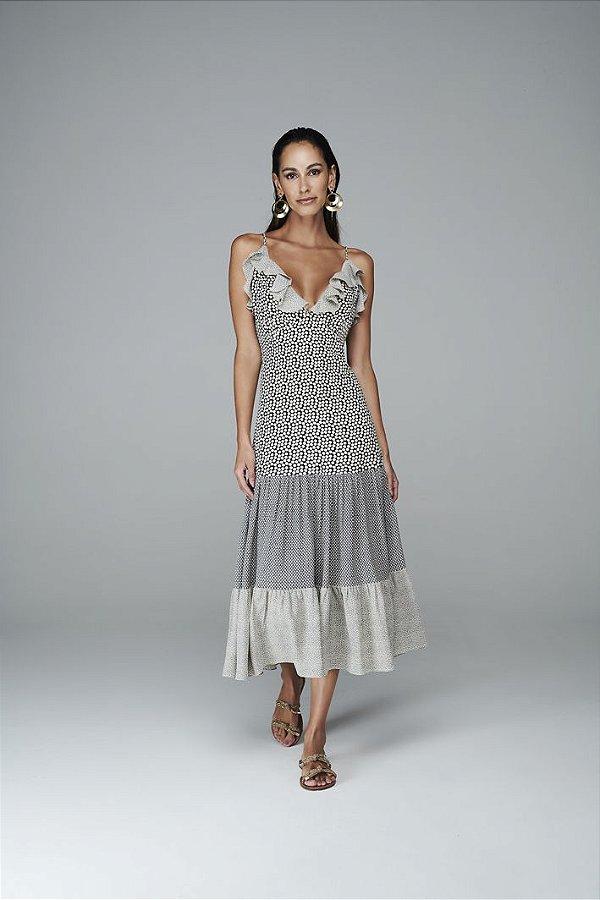Vestido Patwork Alcinha
