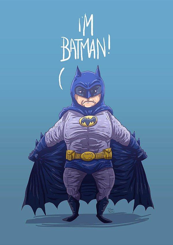 PRINT - Im Batman - NÃO ACOMPANHA MOLDURA