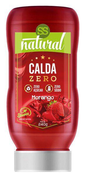 Calda Sabor Morango Zero Açúcar e Zero Sódio