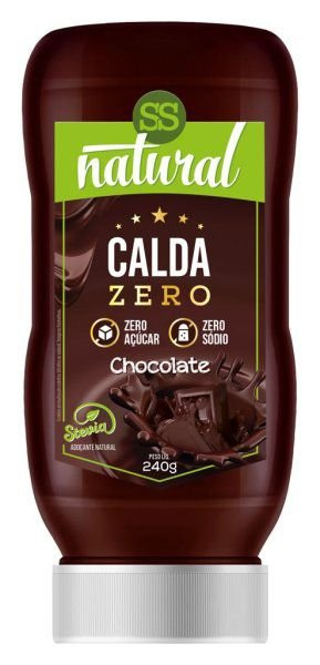 Calda Sabor Chocolate Zero Açúcar e Zero Sódio