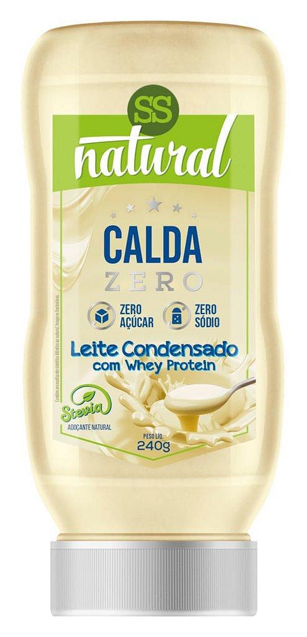 Calda Sabor Leite Condensado Zero Açúcar e Zero Sódio