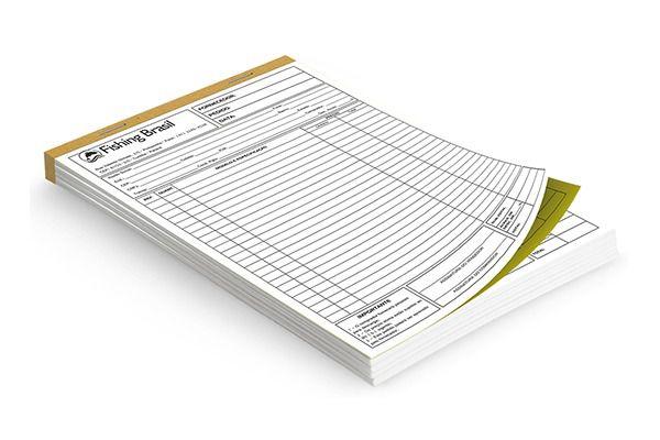 Blocos de Pedido / Orçamento  - 15x21cm - 10 Blocos