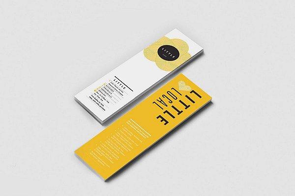 Marcadores de Página - 18x5cm - 1000unds