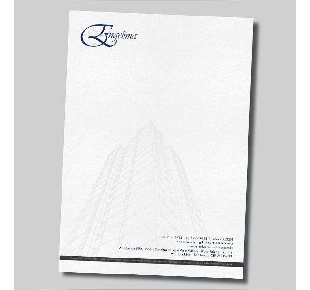 Papel Timbrado - A4 - 500unds