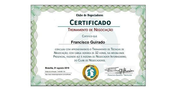 Certificado  - 20unds - 250gr (4x0)