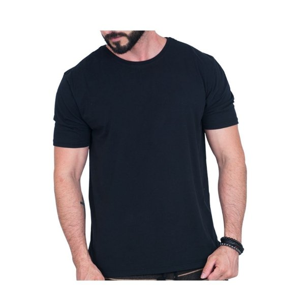 Camiseta Básica Masculina, Kamari.