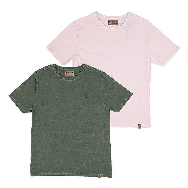 Kit 2 Camisetas Masculinas, Ohio