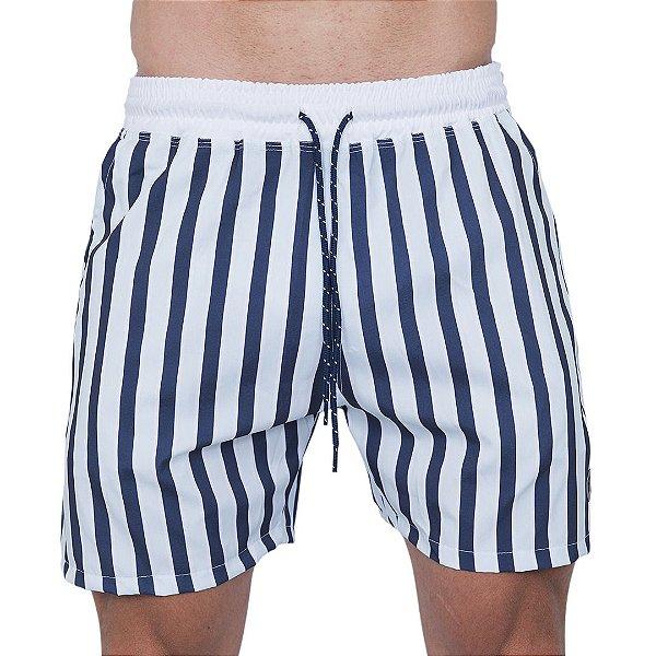 Shorts Tactel Masculino Listrado