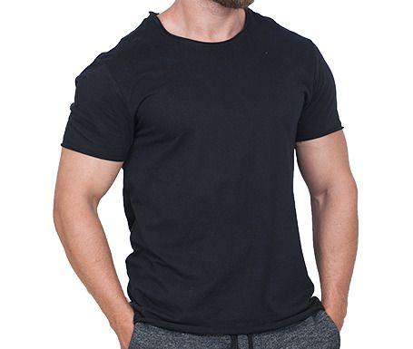 Camiseta Básica Masculina Preta