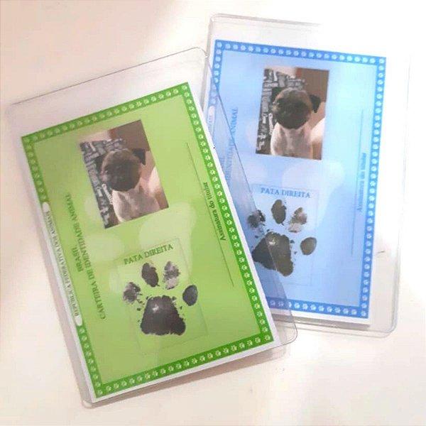 Carteira De Identidade Rg Pet - Cães E Gatos