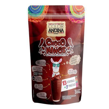 ACHOCOLATADO INFANTIL CHOCONIÑOS | zero açúcar | COLOR ANDINA 200g