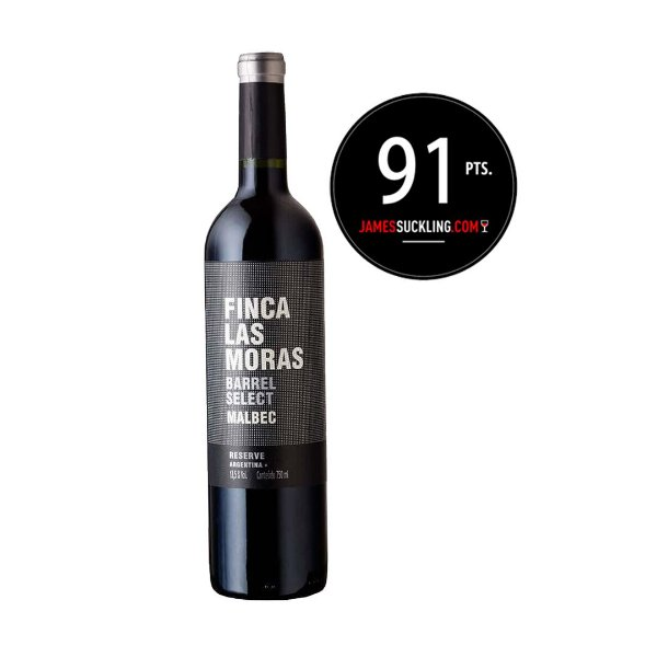 Finca Las Moras Barrel Select - Malbec (Argentina) - 92pts James Suckling