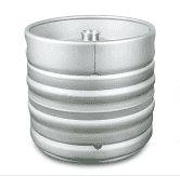 Barril de Inox 30 litros - Válvula S