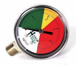 Manômetro de baixa para regulador CO2