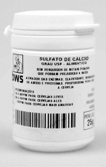 Sulfato de Cálcio (25g)