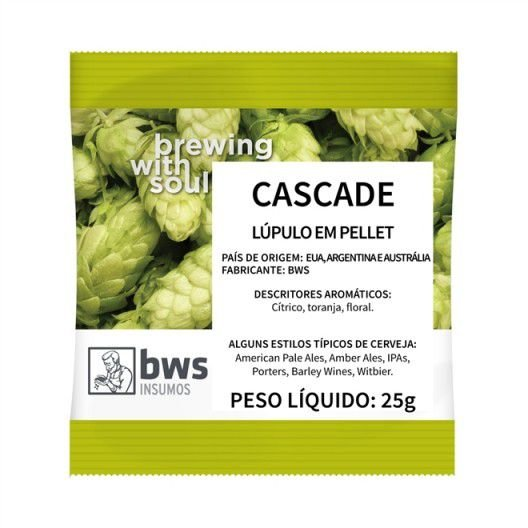 Lúpulo Cascade 25 gr