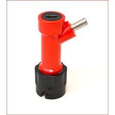 Conector pin-lock espigão 1/4  p/ líquido (3 pinos)