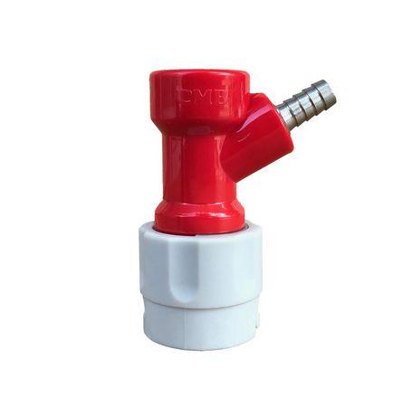 Conector pin-lock espigão 1/4 p/ gás (2 pinos)