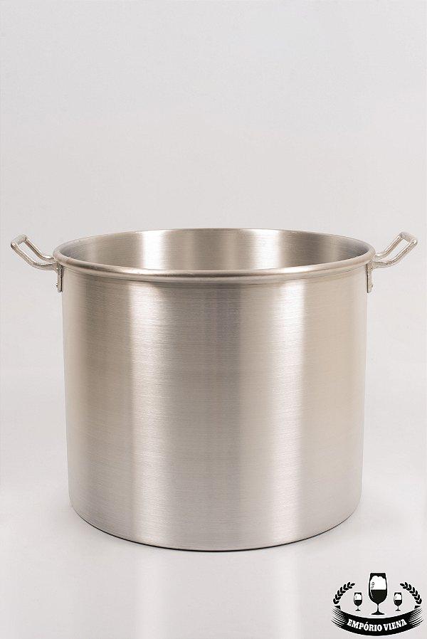 Panela de alumínio 56l sem registro