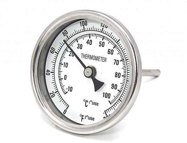 Termômetro com haste para panela