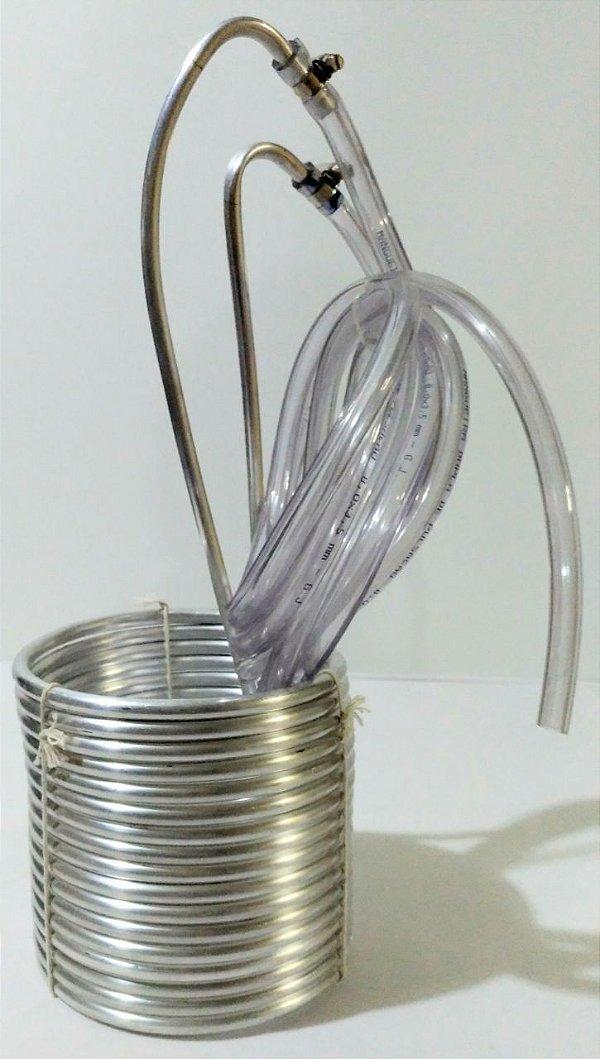 Chiller de alumínio montado (10m)